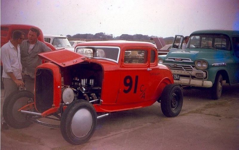 1950's & 1960's hot rod & dragster race 14601910