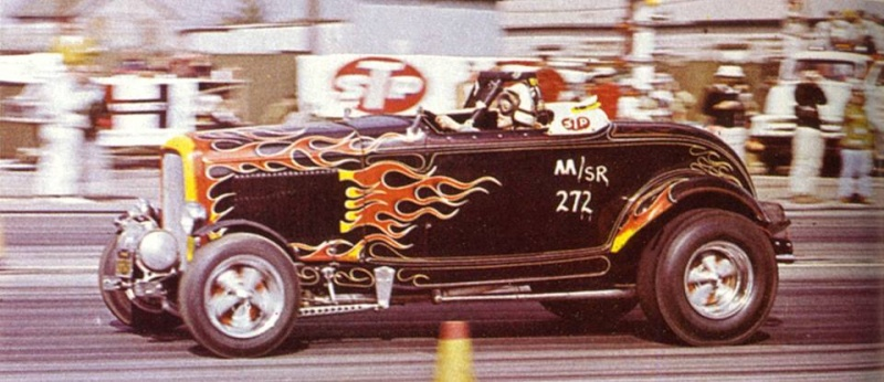 1950's & 1960's hot rod & dragster race 14713810