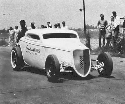 1950's & 1960's hot rod & dragster race 14759210