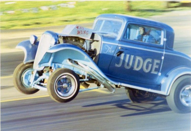 1950's & 1960's hot rod & dragster race 14764610