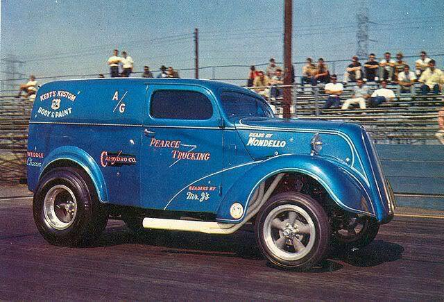 1950's & 1960's hot rod & dragster race 14789710