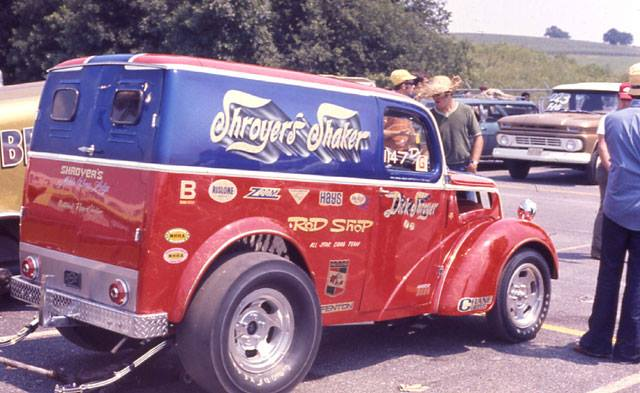 1950's & 1960's hot rod & dragster race 14806910