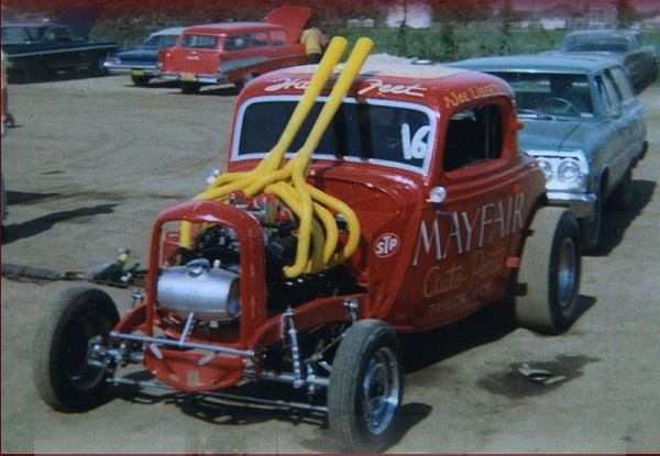 1950's & 1960's hot rod & dragster race 14830710