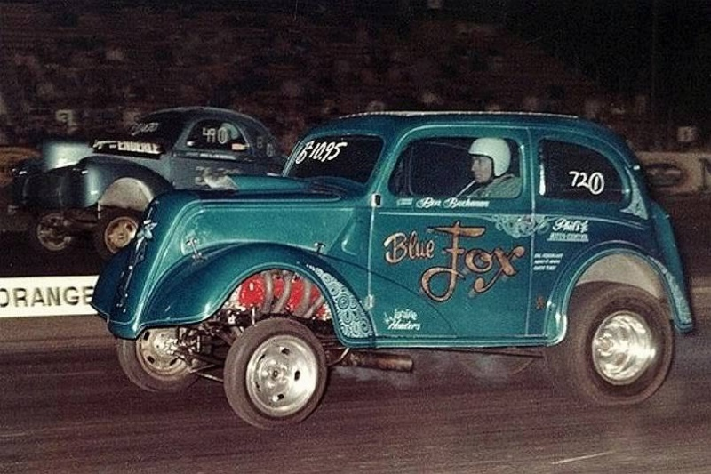 1950's & 1960's hot rod & dragster race 14831210