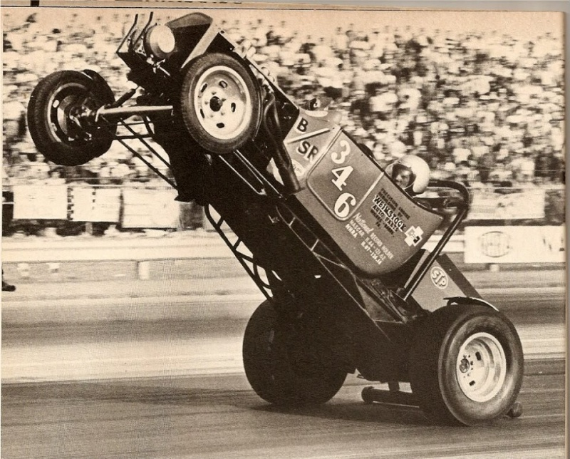 1950's & 1960's hot rod & dragster race 14872710