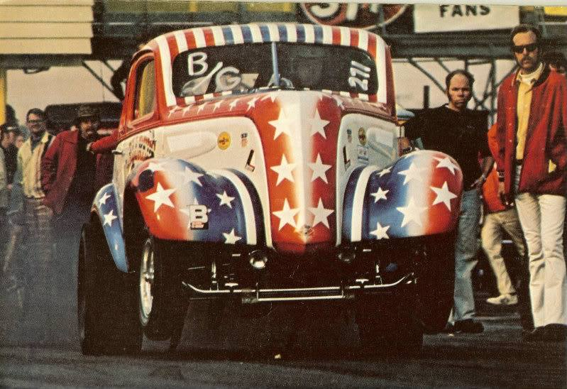 1950's & 1960's hot rod & dragster race 14887910