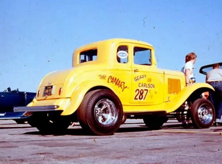 1950's & 1960's hot rod & dragster race 14994510