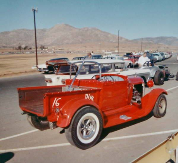 1950's & 1960's hot rod & dragster race 15050610