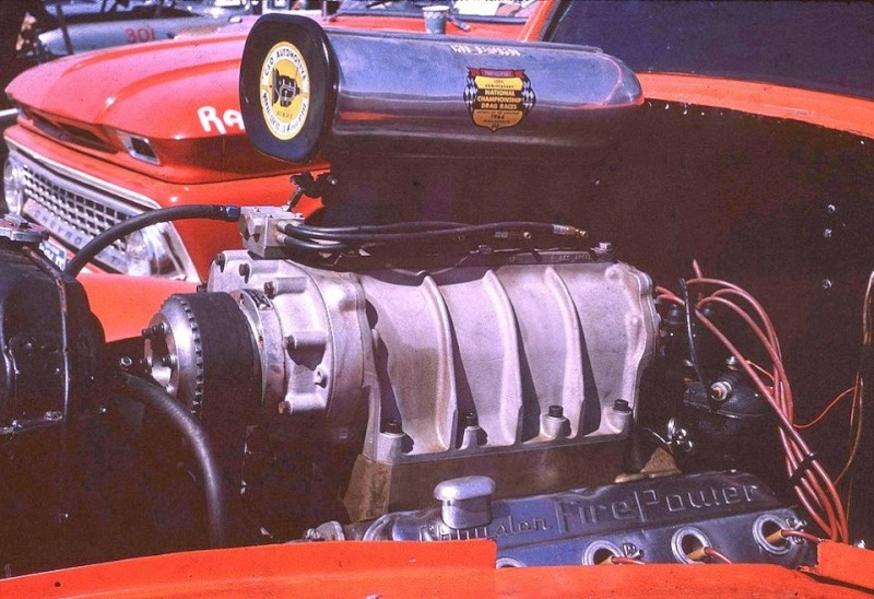 1950's & 1960's hot rod & dragster race 15126210