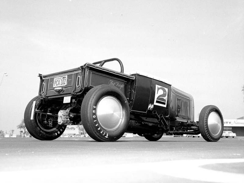 1950's & 1960's hot rod & dragster race 15174810