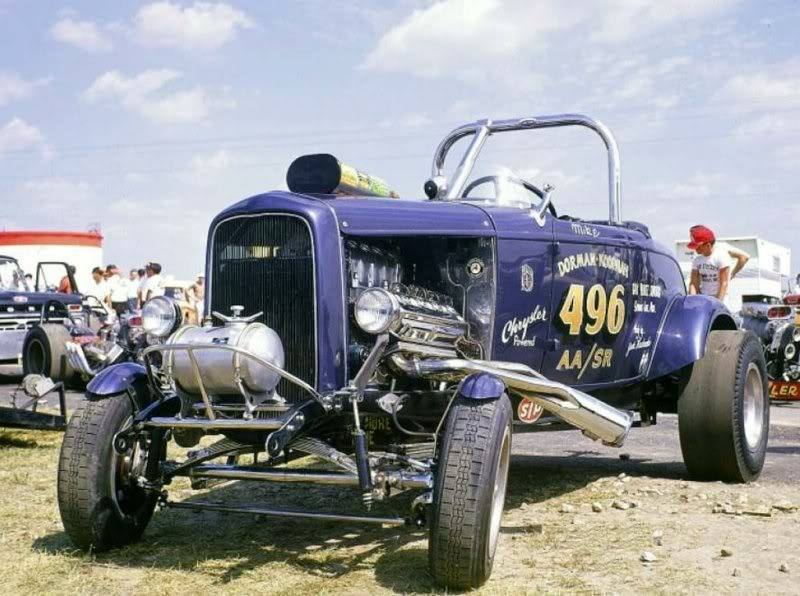 1950's & 1960's hot rod & dragster race 15206110