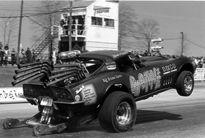 1950's & 1960's hot rod & dragster race 15246410