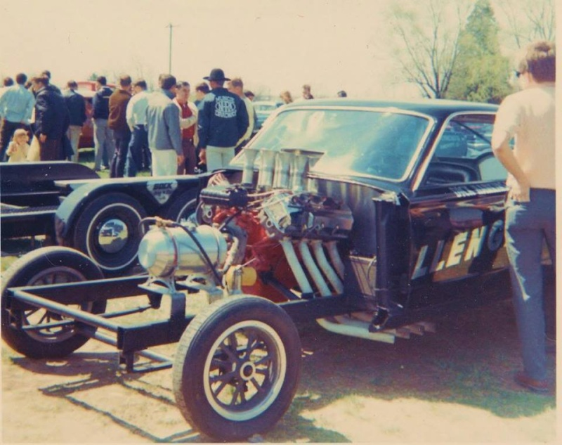 1950's & 1960's hot rod & dragster race 15270710
