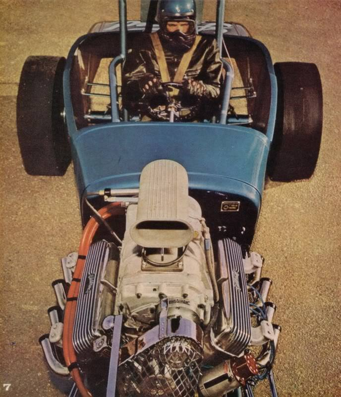 1950's & 1960's hot rod & dragster race 15305510