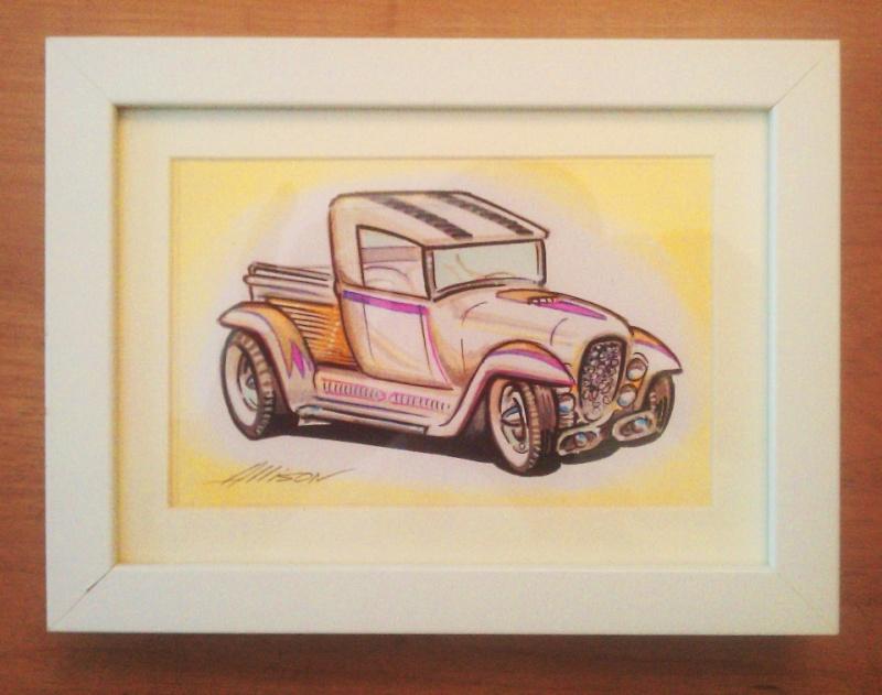 Jeff Allison - designer hot wheels and illustrations 15640910