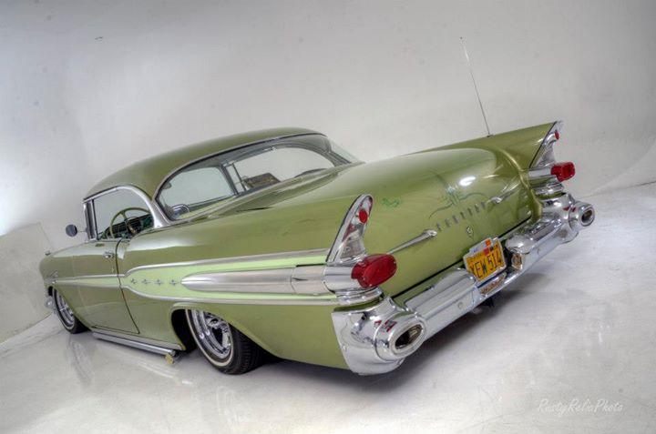 Pontiac 1955 - 1958 custom & mild custom 16492010