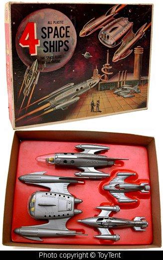 Jouets Spaciaux - Sci-Fi Toys 16751210