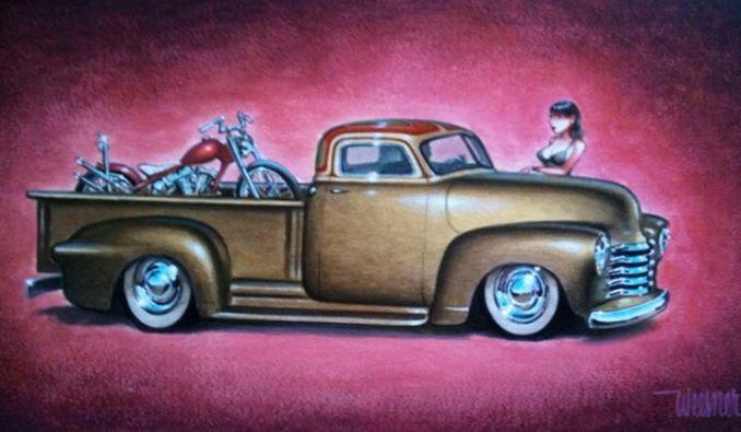 Chevy Pick up 1947 - 1954 custom & mild custom - Page 3 16897110