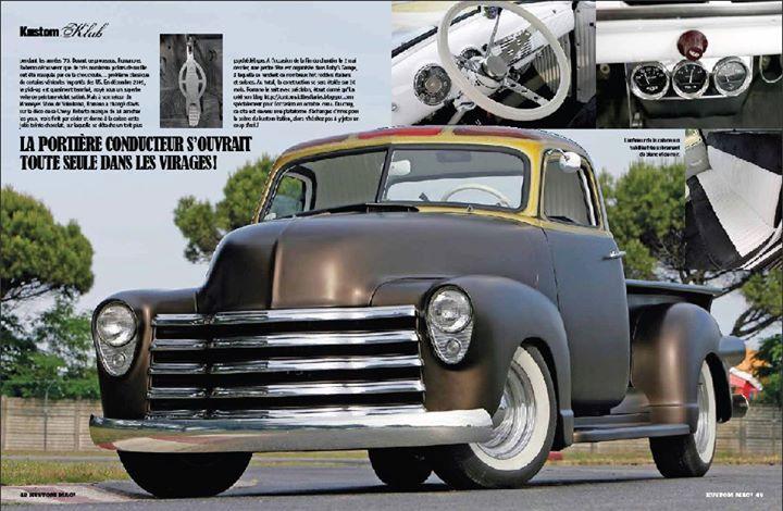 Chevy Pick up 1947 - 1954 custom & mild custom - Page 3 17166810