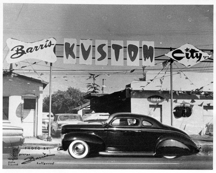 Barris kustom shop in the 1950's 17946610
