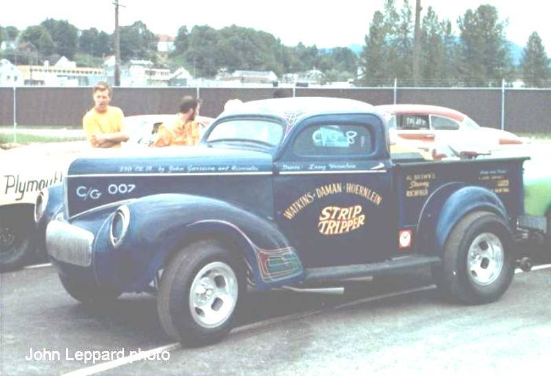 1950's & 1960's hot rod & dragster race 19119110