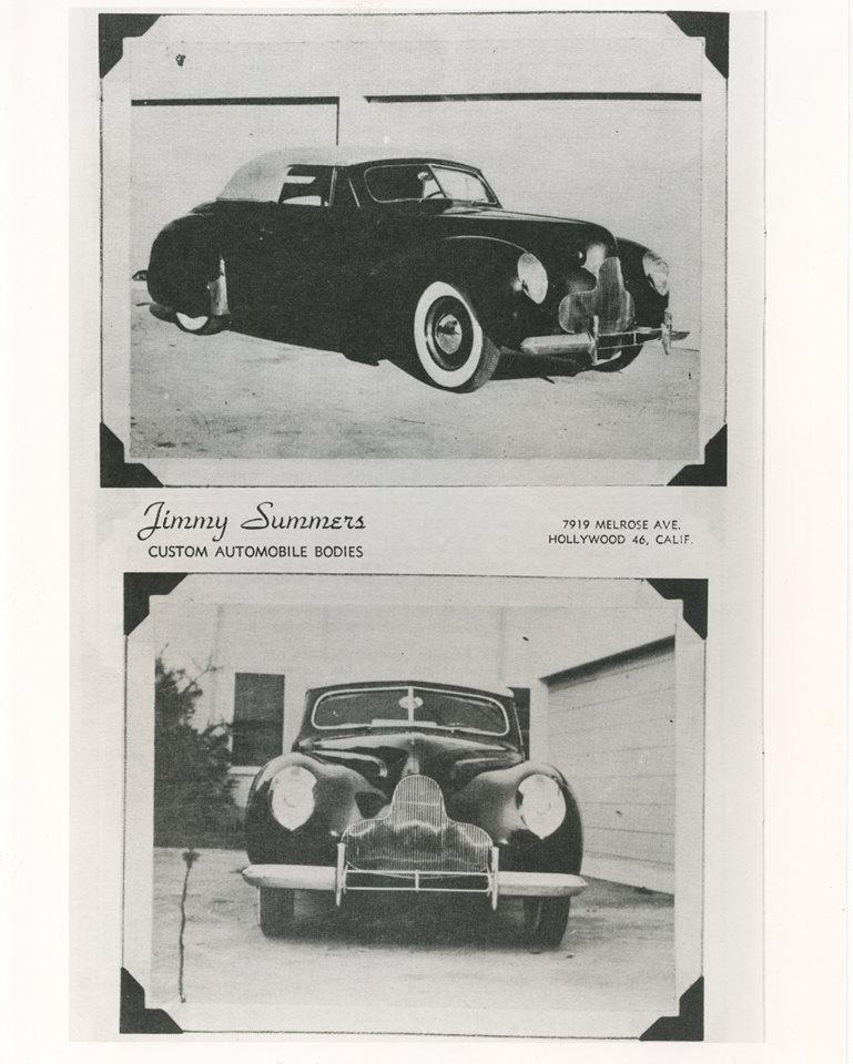 Ford & Mercury 1939 - 40 custom & mild custom - Page 4 19750910
