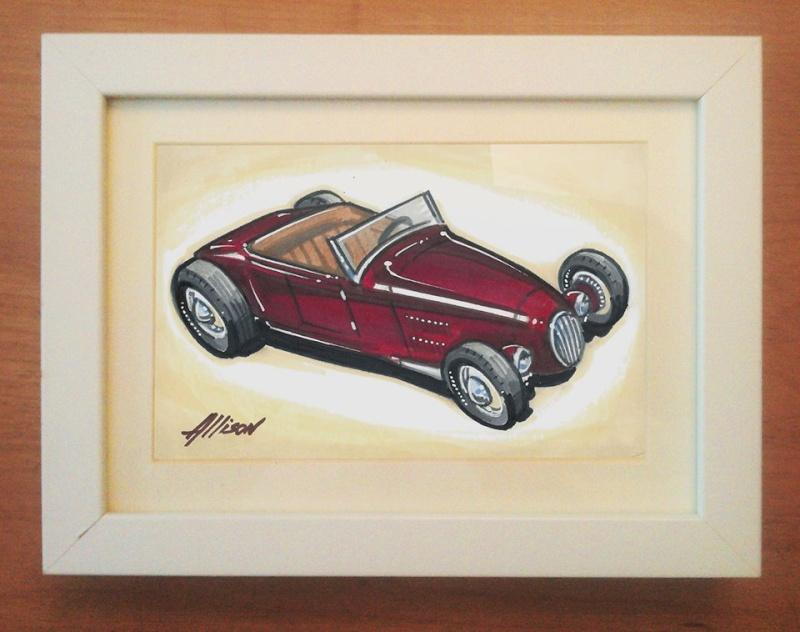 Jeff Allison - designer hot wheels and illustrations 25325310