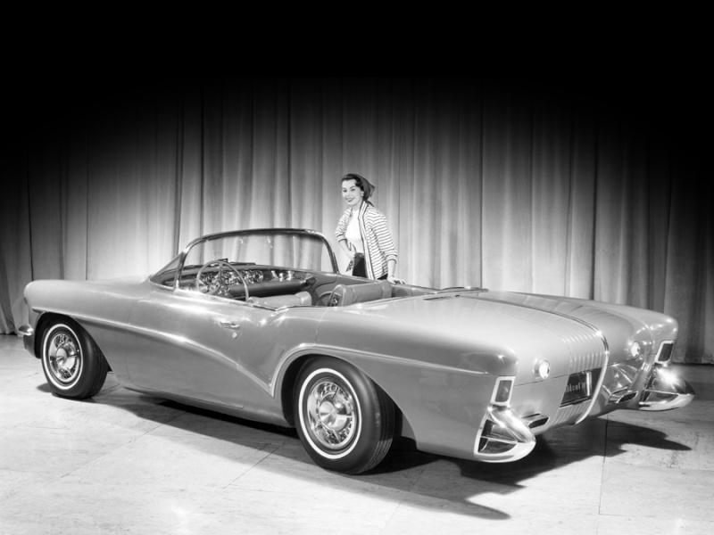 Buick Wildcat 3 -  dream car - concept car - 1955  2sdsa10