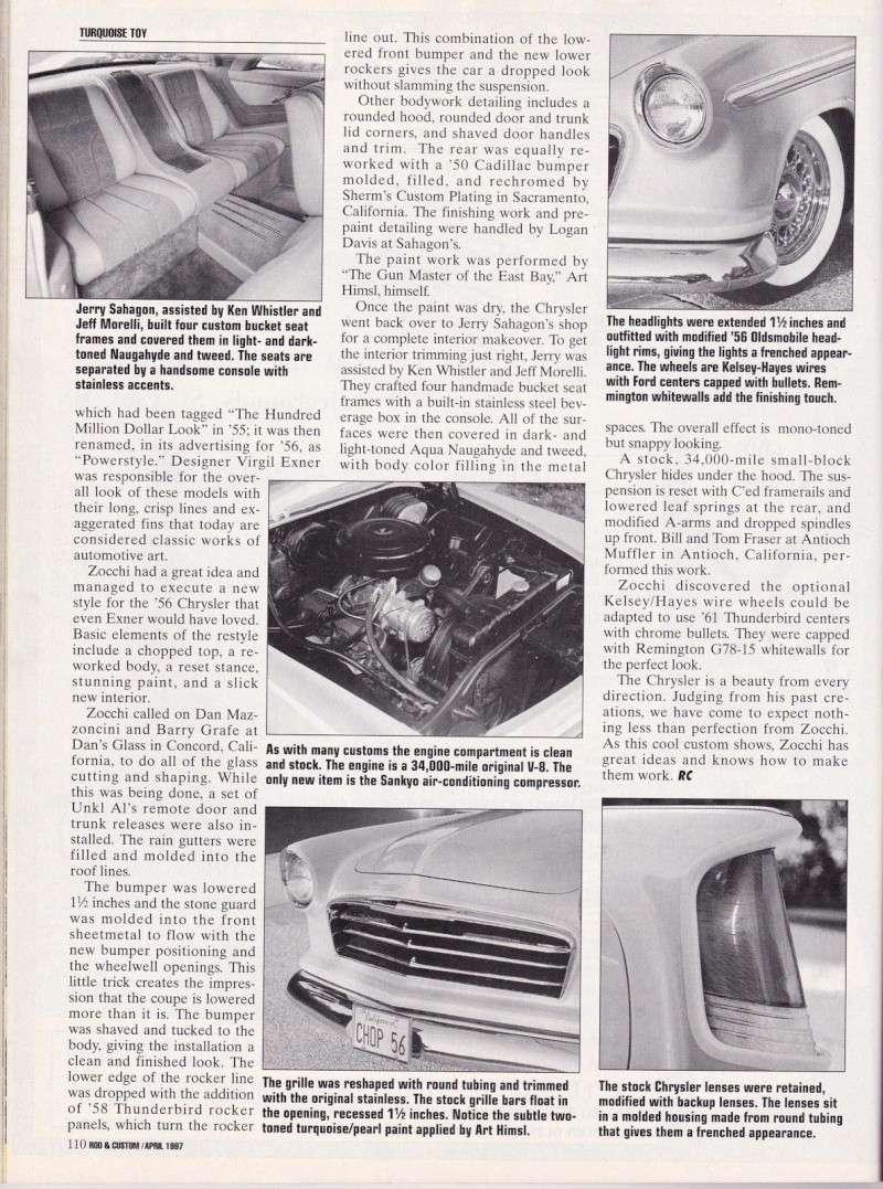 Chrysler & DeSoto 1955 - 1956 custom & mild custom 319
