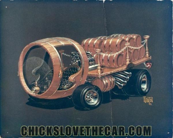 Wine Wagon - Ed Newton, Dick Dean  32d41b11