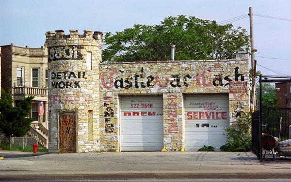 Car Wash 1950s - 1960s - Centre de lavage auto 362_0810