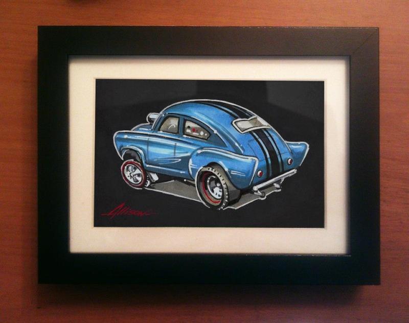 Jeff Allison - designer hot wheels and illustrations 39745110