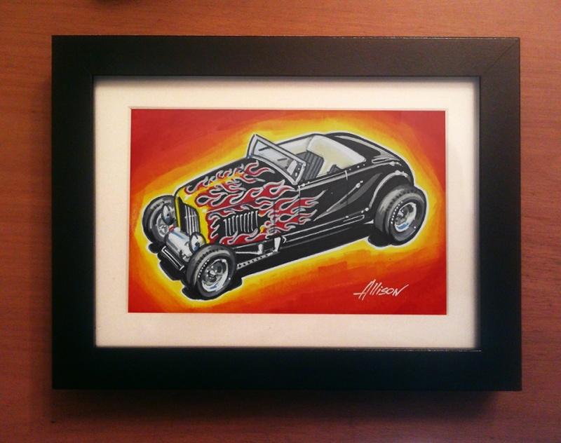 Jeff Allison - designer hot wheels and illustrations 40190610