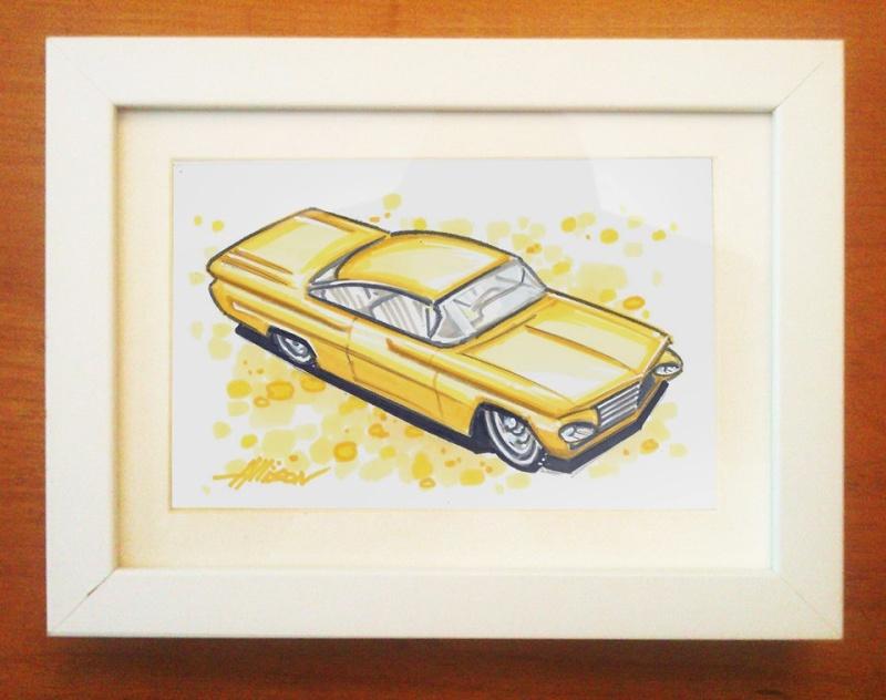 Jeff Allison - designer hot wheels and illustrations 42186410