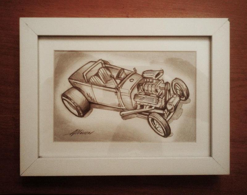 Jeff Allison - designer hot wheels and illustrations 42642010