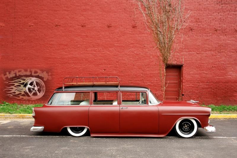 Chevy 1955 custom & mild custom - Page 4 45-cop10