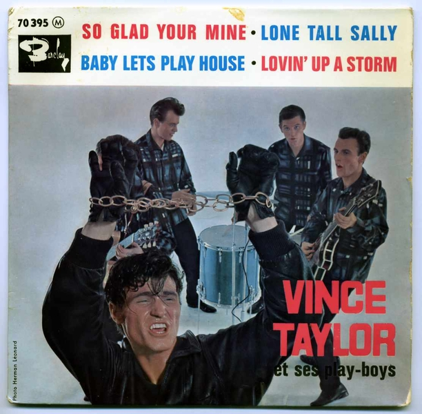 Vince Taylor & the PlayBoys 45-vin10