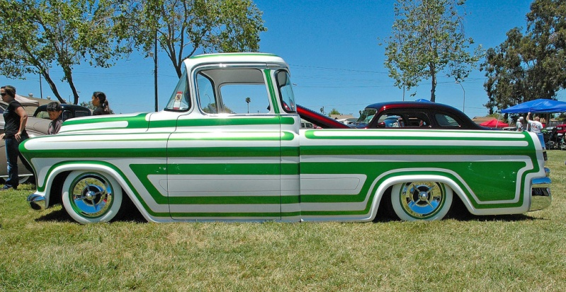 Chevy pick up  1955 - 1959 custom & mild custom 46612513
