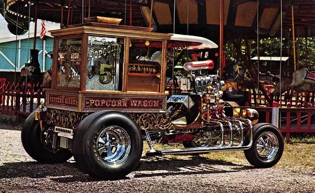Popcorn Wagon - Carl Casper - 1970 48190010