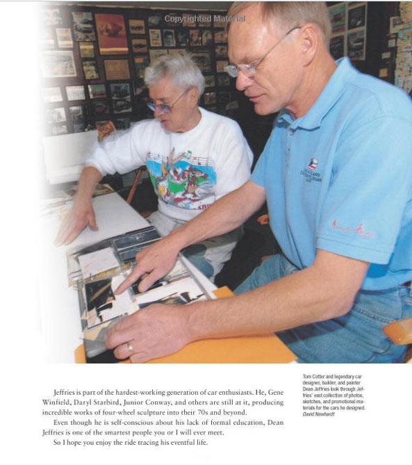 Dean Jeffries: 50 Fabulous Years in Hot Rods, Racing & Fil - Tom Cotter - motorbooks 524