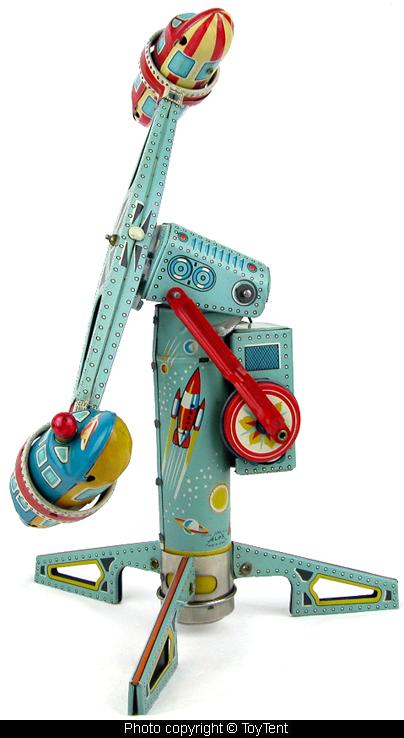 Jouets Spaciaux - Sci-Fi Toys 5446-410