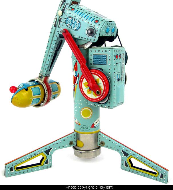 Jouets Spaciaux - Sci-Fi Toys 5446-510