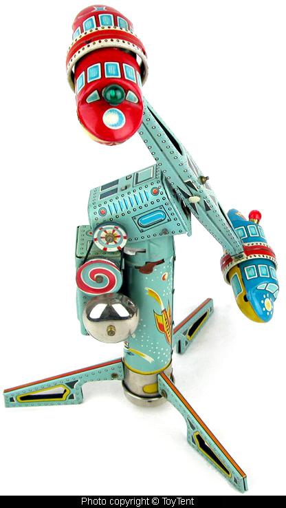 Jouets Spaciaux - Sci-Fi Toys 5446-610
