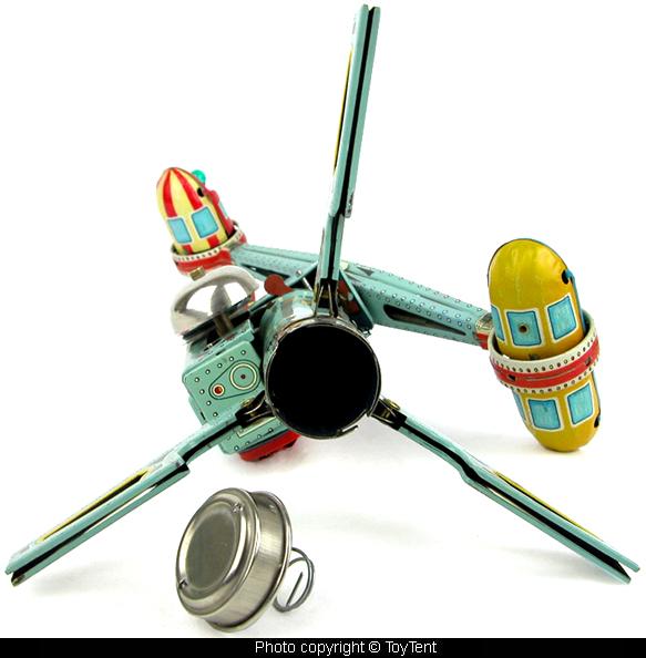 Jouets Spaciaux - Sci-Fi Toys 5446-810