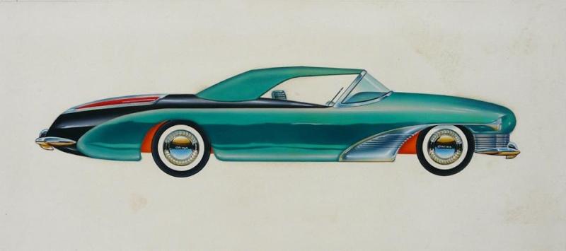 Vintage automotive design illustration. 59480_10