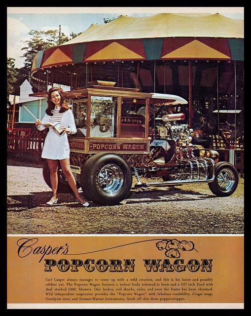 Popcorn Wagon - Carl Casper - 1970 7baa4d10