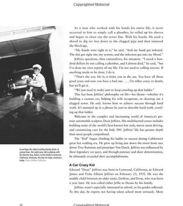 Dean Jeffries: 50 Fabulous Years in Hot Rods, Racing & Fil - Tom Cotter - motorbooks 818
