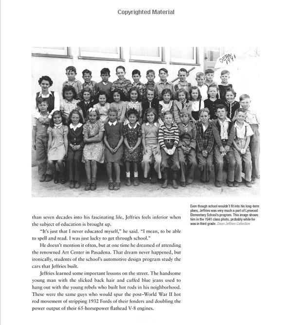 Dean Jeffries: 50 Fabulous Years in Hot Rods, Racing & Fil - Tom Cotter - motorbooks 916