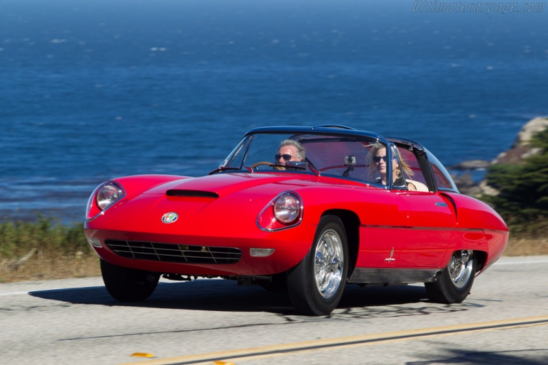 Pininfarina Superflow .  1956 -1960 Alfa-r10