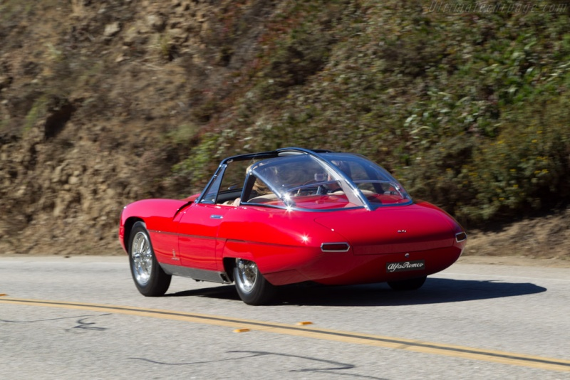 Pininfarina Superflow .  1956 -1960 Alfa-r11